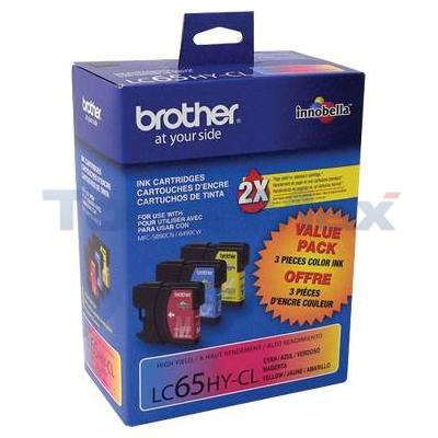 BROTHER MFC-6490CW INKJET CART TRI-COLOR HY